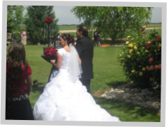 Sunflower Lane Is The Ideal Venue To Host Outdoor Weddings And Receptions Red Barn Nampa Idahos Countryside Views Make A Lovely Backdrop For Your