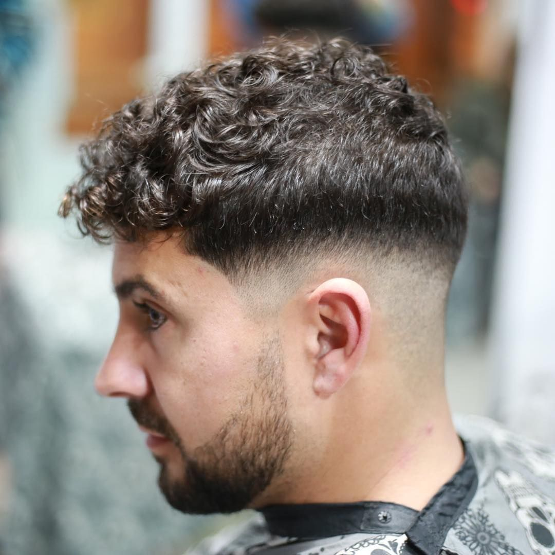 haircuts men curly hair