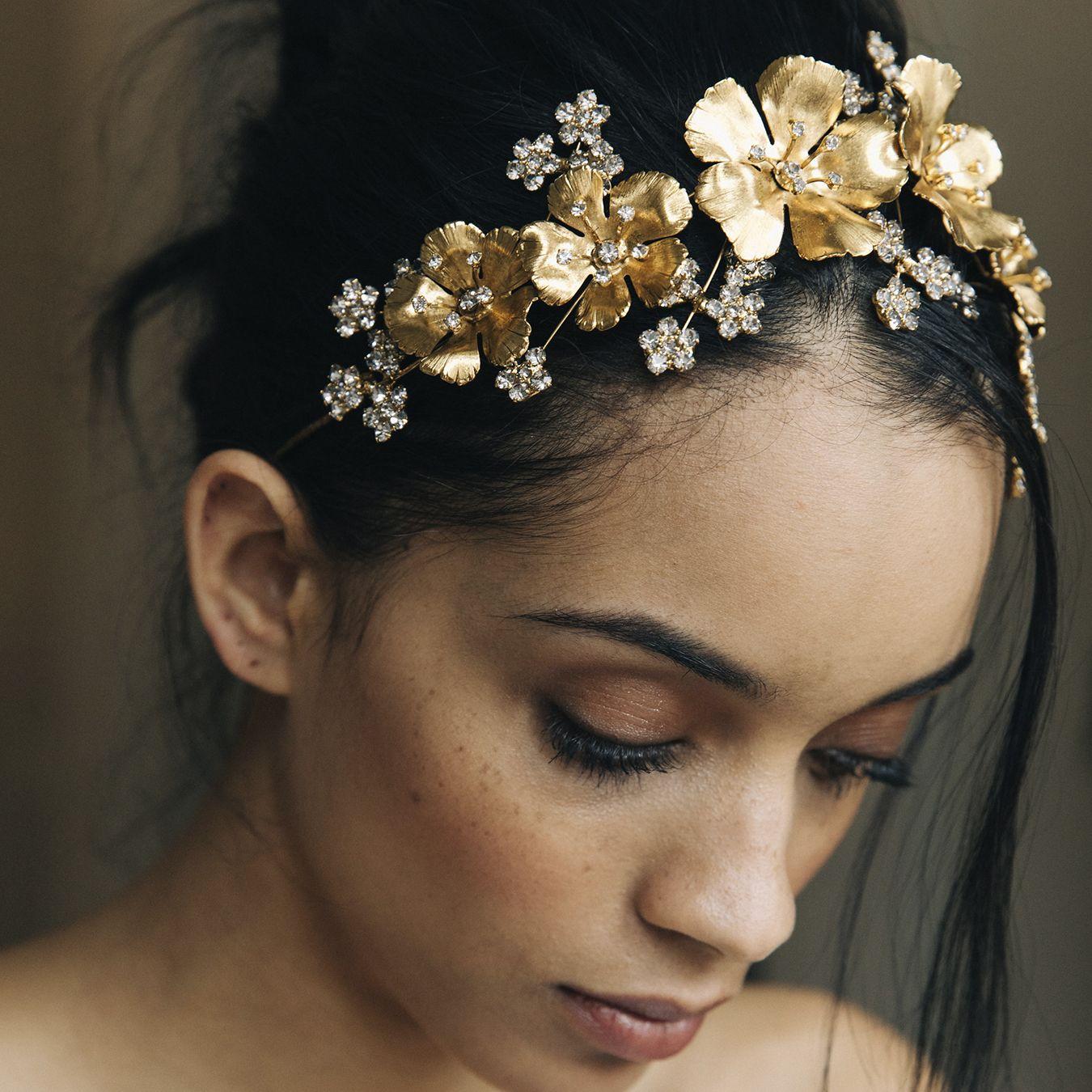 The viola circlet takes flower crowns to a whole new level adorn the viola circlet takes flower crowns to a whole new level adorn your wedding hairstyle izmirmasajfo