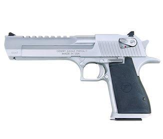 Magnum Research Desert Eagle, .50 AE, Brushed Chrome - Style # DE50BC, MRI Shop / Firearms