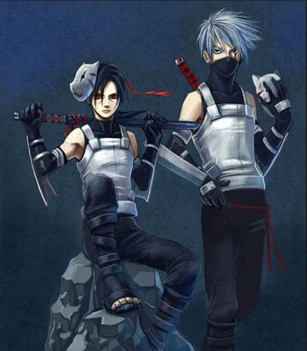 Young Itachi And Kakashi Itachi Uchiha Kakashi Naruto Sasuke Sakura