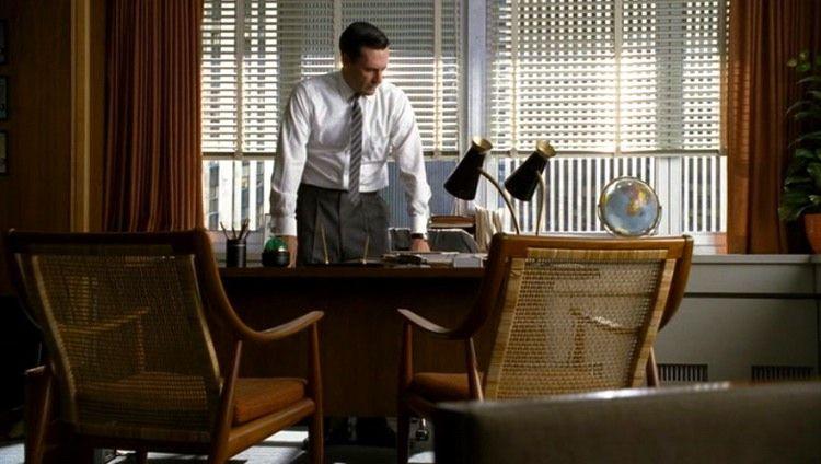 mad men don draperu0027s office furniture n