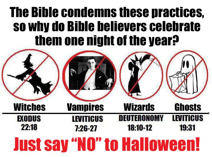 Biblical Scriptures That Help Explain Why We Shouldnu0027t Celebrate The Pagan  Holiday Of Halloween.