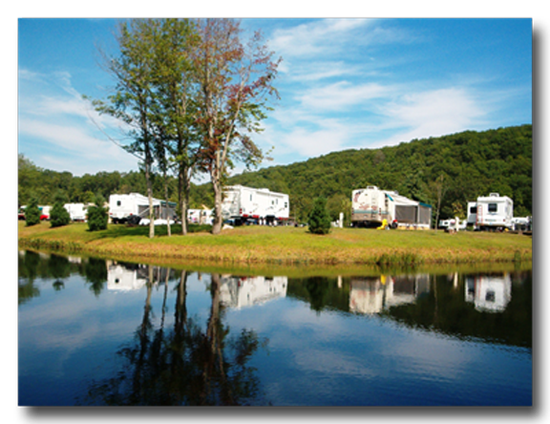 Aces High RV Park Is Located On 93 Acres Of Wooded Land In East Lyme