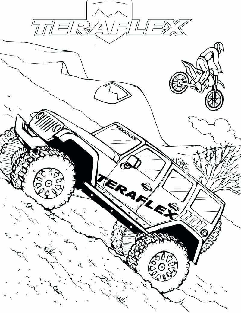 Military Jeep Coloring Pages Best Of Jeep Wrangler ...