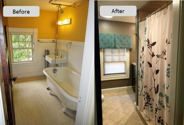 Lisa Scheff Designs - Interior Design Small bathroom before and after