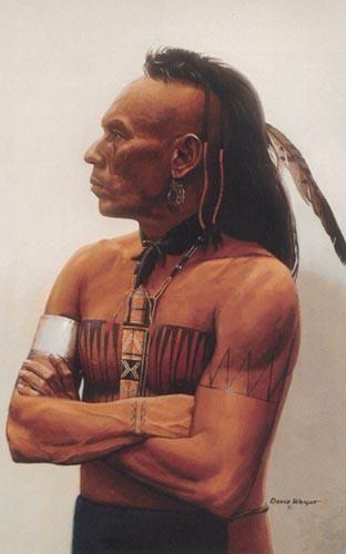Famous Cherokee Warriors | Huron Indian Tribe | art | Pinterest ...