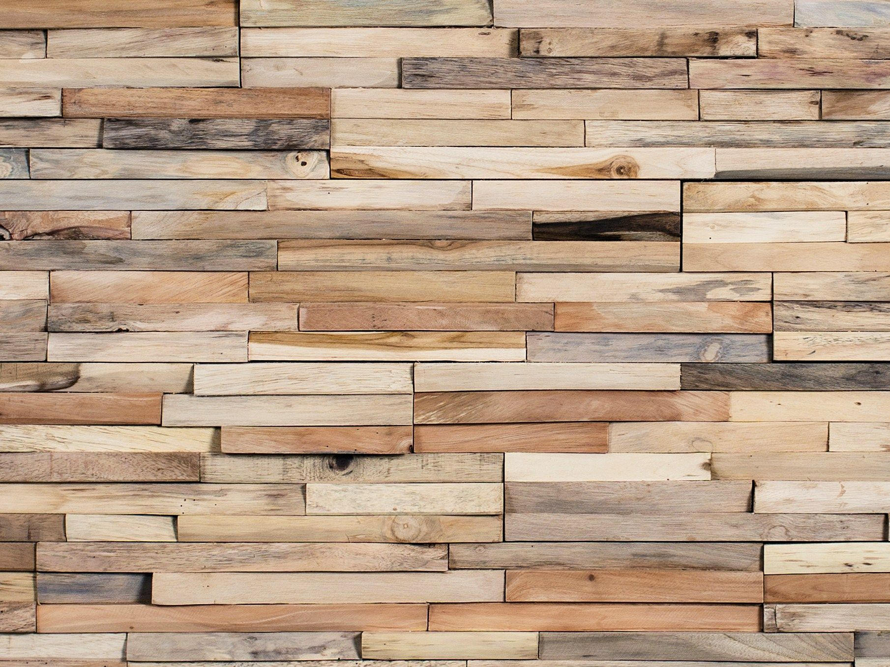 Wooden 3d wall cladding mercury by wonderwall studios - Revetement mur interieur ...