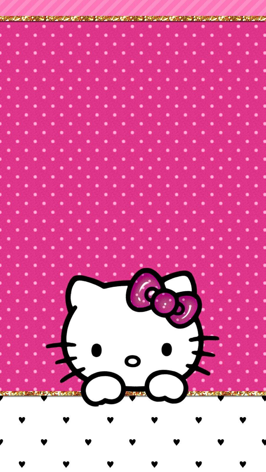 Hk Wallpaper iphone Hello kitty wallpaper, Kitty