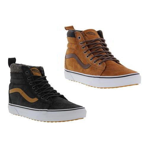 Vans U SK8-HI, Zapatillas Altas Unisex, Marrón (MTE Glazed Ginger/Plaid), 40 EU