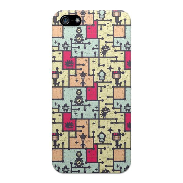 iPhone 5 and iPhone 5s Monsters Comics Case - Attack Maze Case