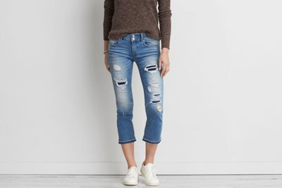 6009669f786 Artist Crop Jean by American Eagle Outfitters | This traditional denim is  crafted with just enough stretch for added comfort. Shop the Artist Crop  Jean and ...