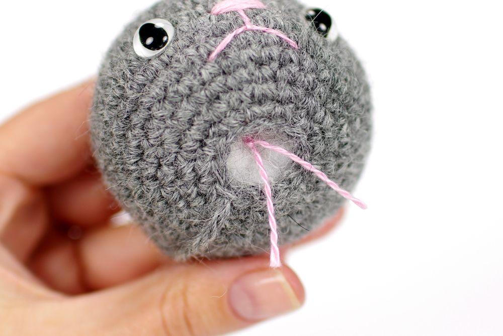 Crocheted Kitten Bethb Pinterest Crochet Amigurumi And