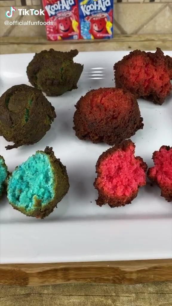 Deep Fried Koolaid Video Yummy Food Dessert Diy Food Recipes Food Recipies