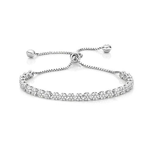 Diamond Treats Womens Silver Bracelet b0b3e5a1a