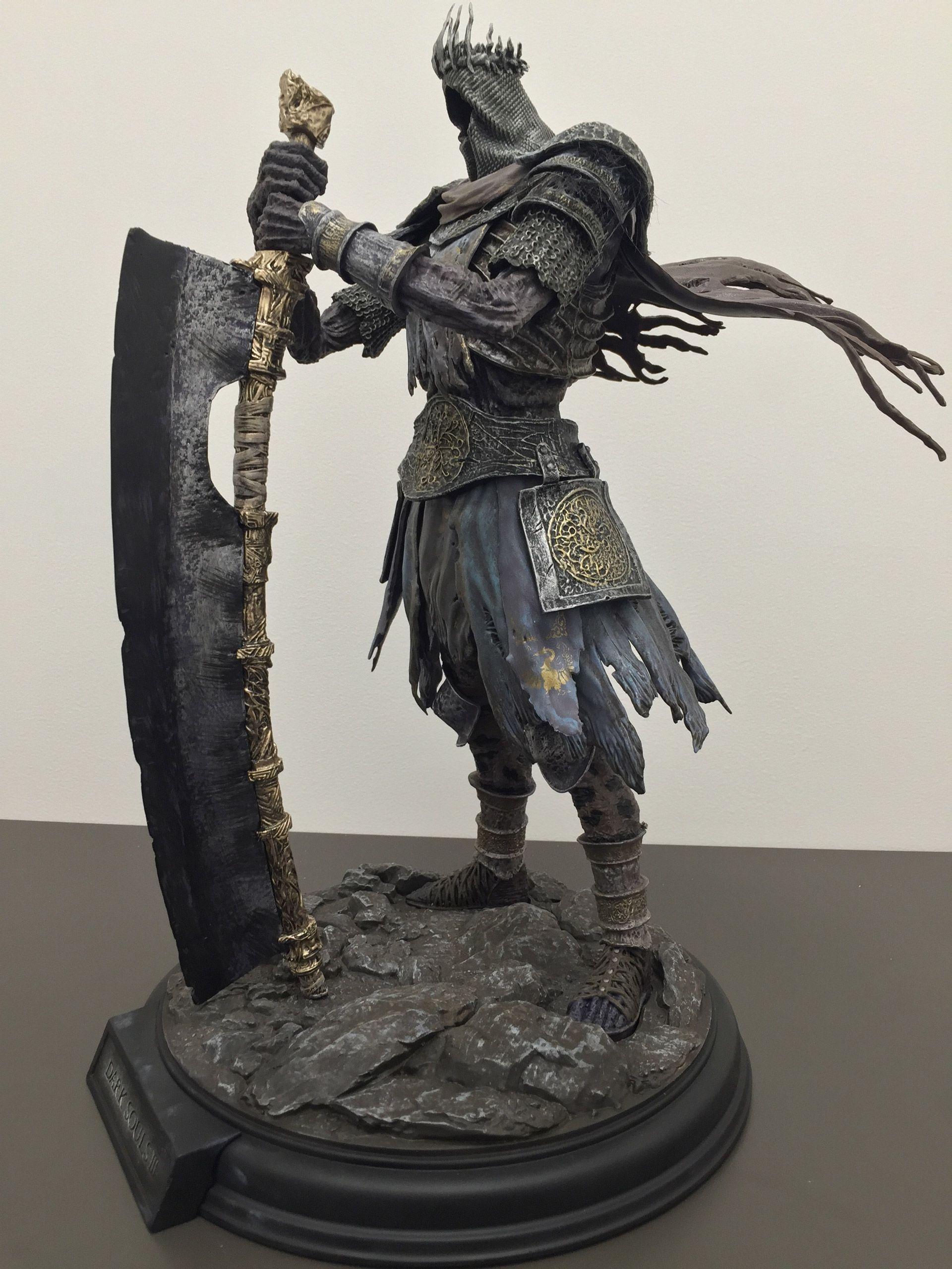 Dark souls iii lord of cinder statue bandai namco store