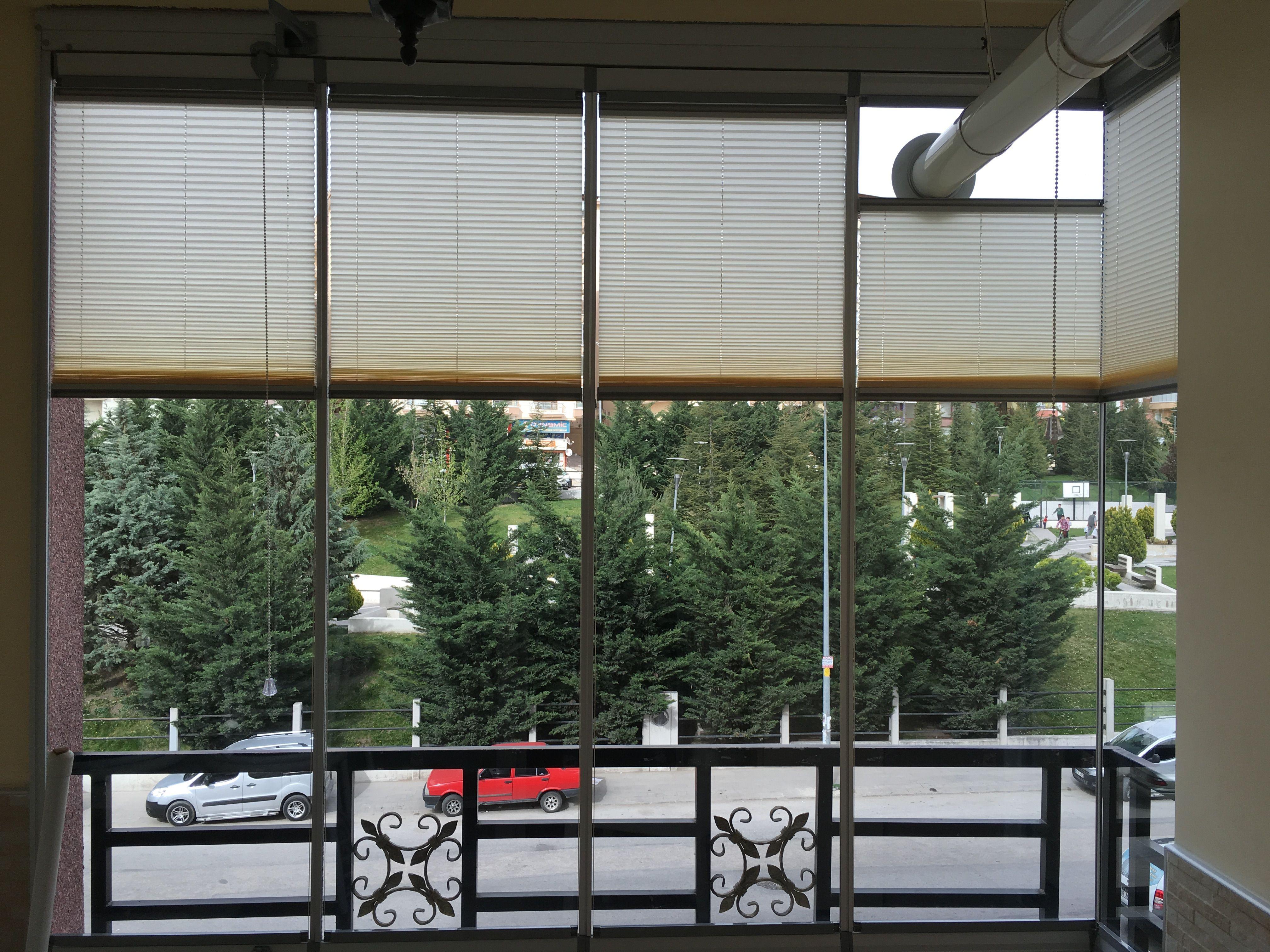 Ankara Plise Cam Balkon Perdesi Plise Perde Ve Cam Balkon Plise