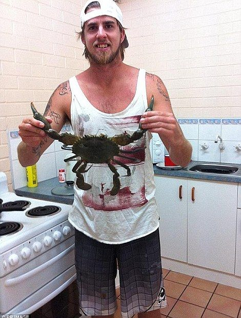Surfer Ben Gerring had his leg bitten off by a white shark at Falcon Beach and died two da...