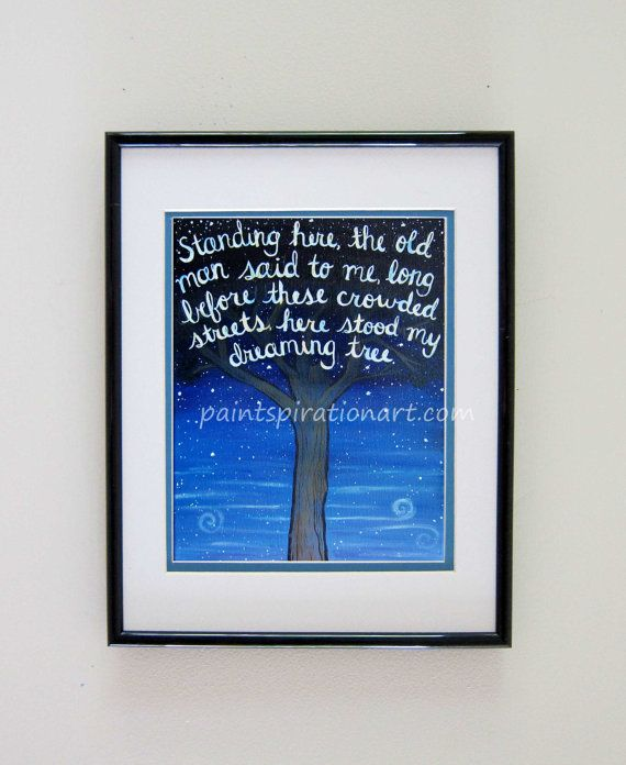 Dave matthews band dreaming tree song lyrics art quote print dmb dave matthews band dreaming tree song lyrics art quote print dmb music art signs with malvernweather Image collections