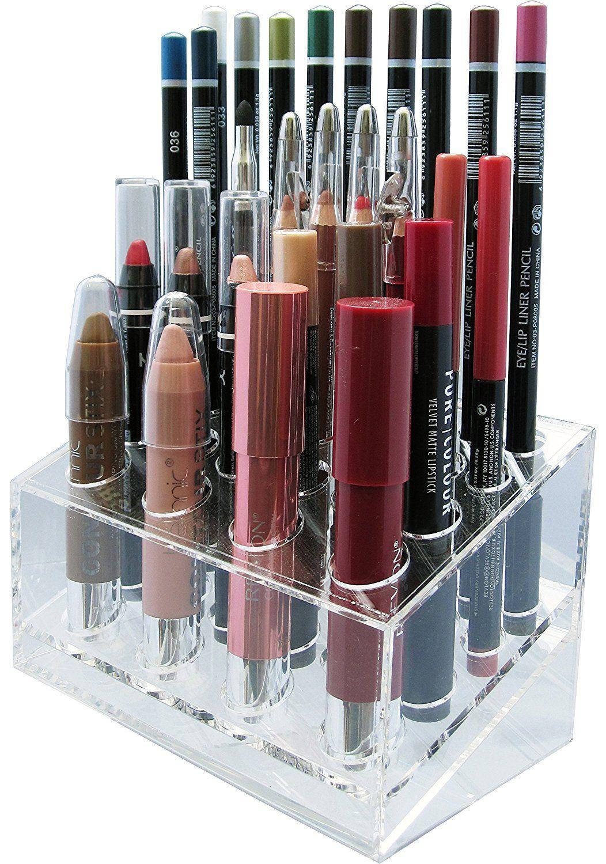 "Skin Radianceâ""¢ Premium Acrylic Lip/Eye Liner Organizer"