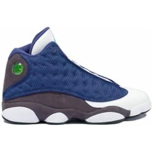 quality design bab01 0fada www.asneakers4u.com 414571 401 Air Jordan 13 Flint French Blue University  Blue Flint Grey A13009
