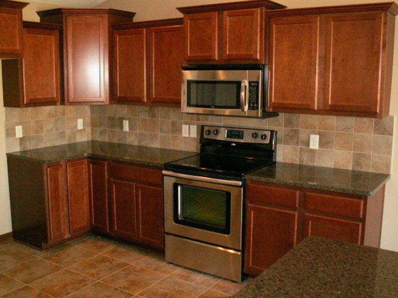 Tropical Brown Granite Countertops | Home kitchens ...