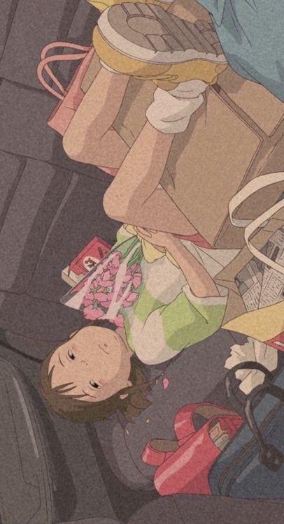 Aesthetic fond d'écran le Voyage de Chihiro   Fond d'ecran dessin, Le voyage de chihiro, Photo ...
