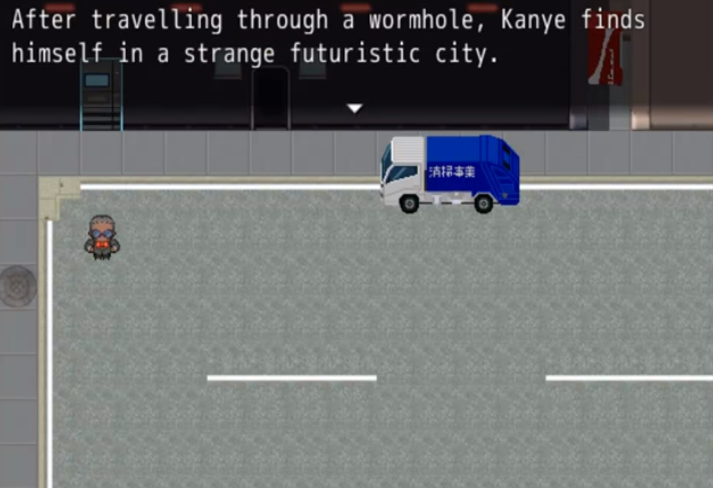 Kanye West Inspired Rpg Kanye Quest 3030 Futuristic City Kanye Kanye West