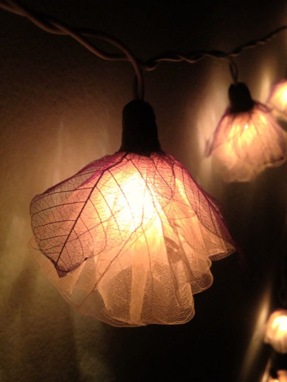 Decorative Indoor String Lights Delectable Fairy String Lights 20 White Carnation Flowerfairylighting Design Decoration