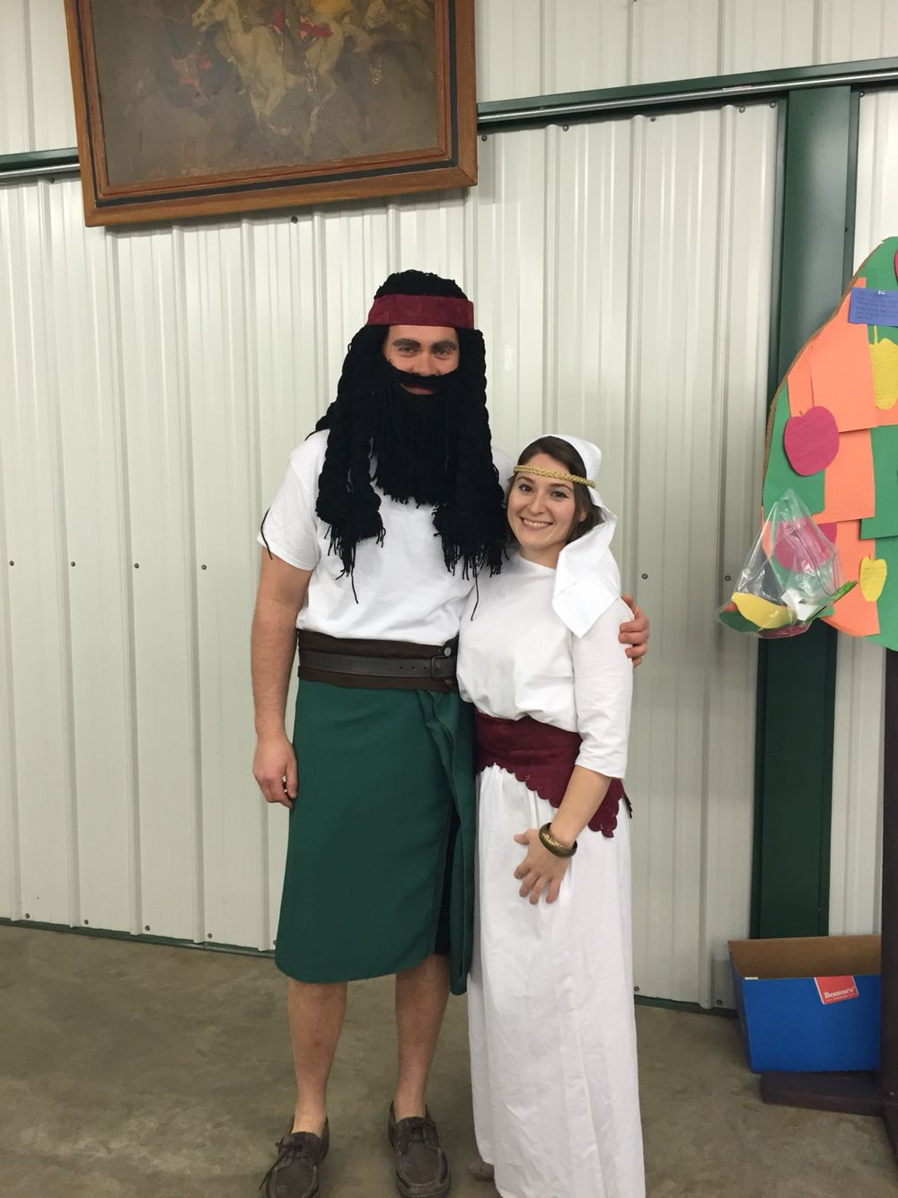 samson and delilah bible costumes good one pinterest
