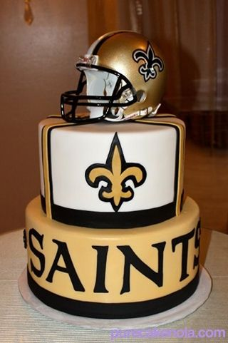 New Orleans Saints Cake By Pure
