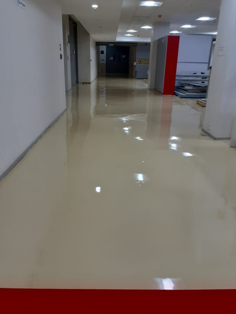 Just Completed 1 Mm Epoxy Flooring At Chakan Pune Epoxy