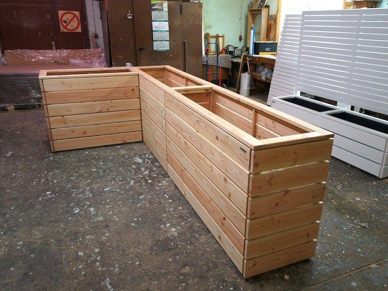 Hochbeet Holz Grosse Nach Mass Hochbeet Holz Hochbeet Gewachshaus Holz