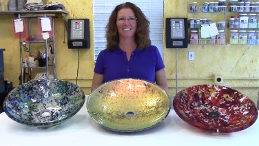 Beau Lisa Vogt Art Adventure Blog: Introducing: Fused Vessel Sinks With Lisa  Vogt DVD.