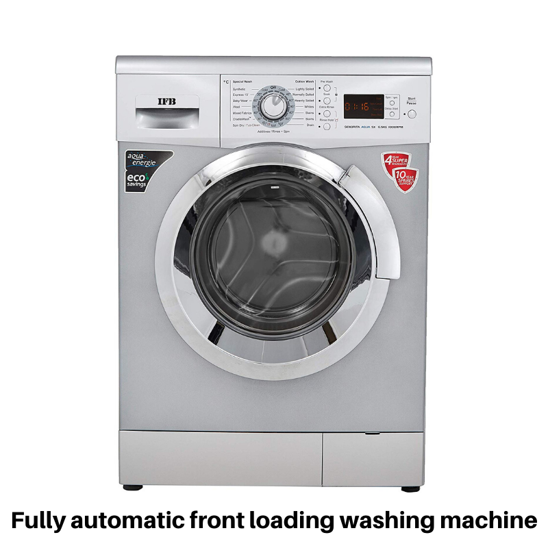Ifb Fully Automatic Front Loading Washing Machine In 2020 Used Washing Machine Washing Machine Toy Washing Machine