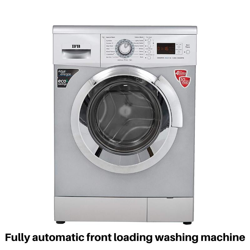 Ifb Fully Automatic Front Loading Washing Machine In 2020 Used Washing Machine Washing Machine Toy Washing Machine