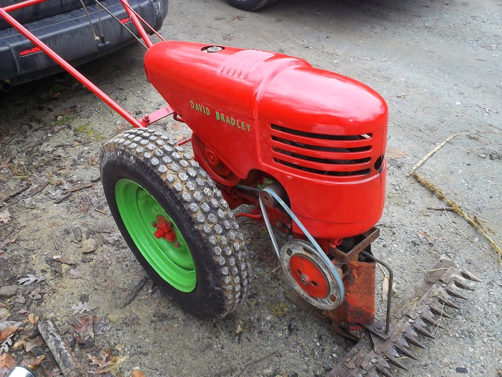 Antique Two Wheel Tractor : Wheel walk behind tractor google search farming