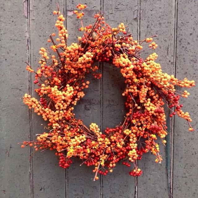 55 charming and elegant thanksgiving wreath ideas for this season