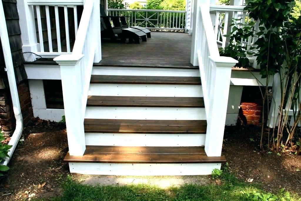 Front Porch Steps Designs Outside Stairs Ideas Front Porch Stairs