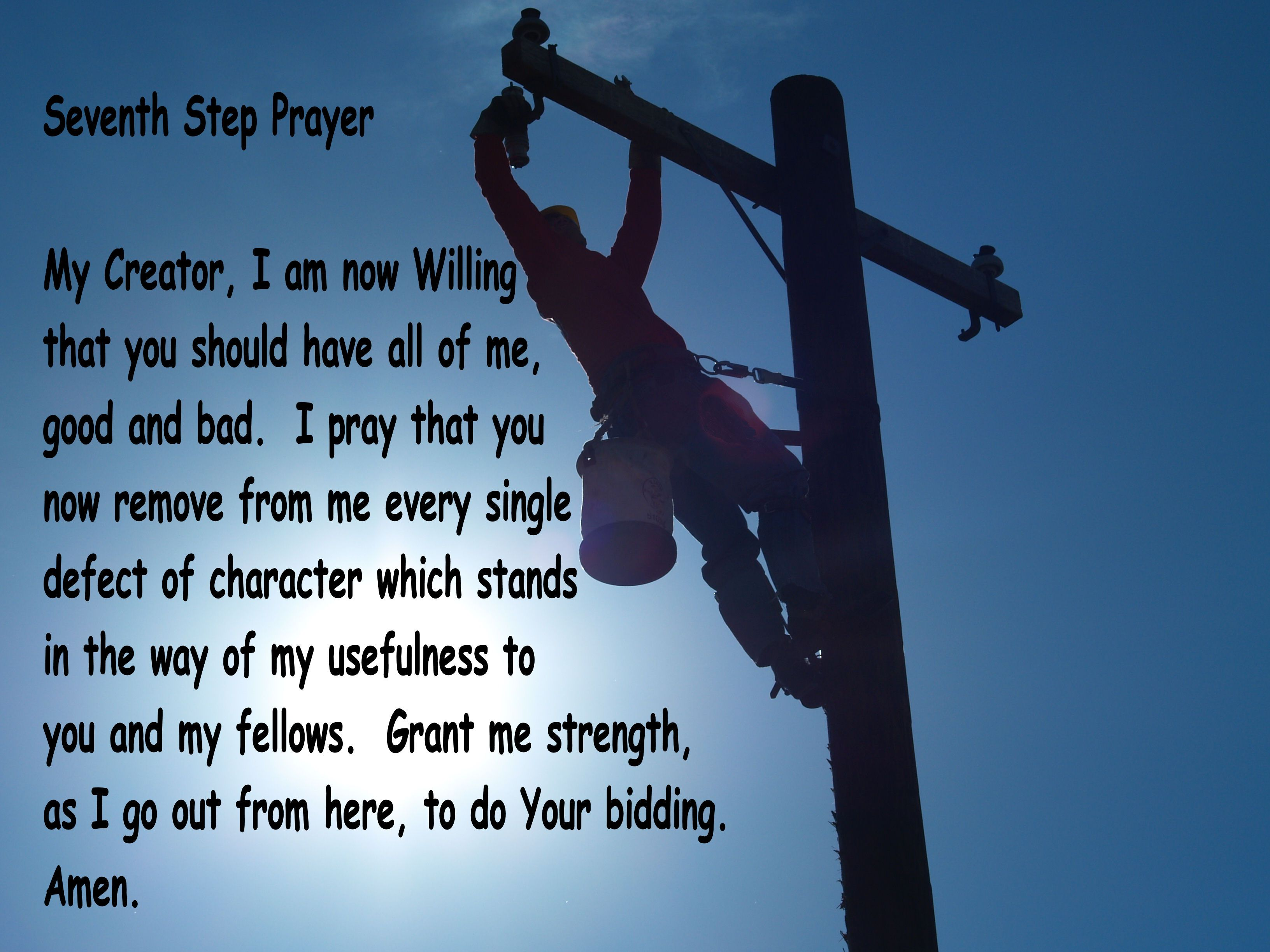 7th Step Prayer With Images