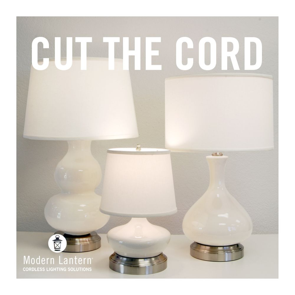 Cordless Lighting Battery Operated Rechargeable Lighting Modern