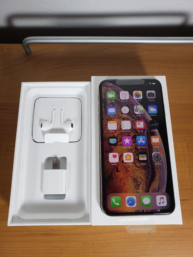 Apple iphone xs max 256gb silver attcricket a1921