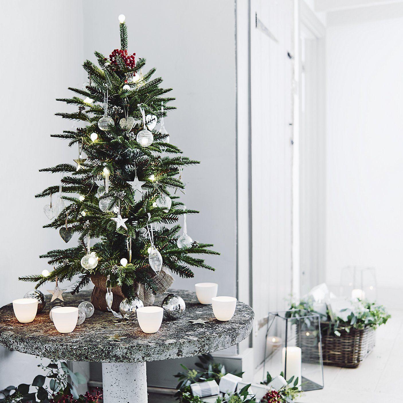 3ft White Christmas Tree.Fir Christmas Tree 3ft The White Company Najkrajsie