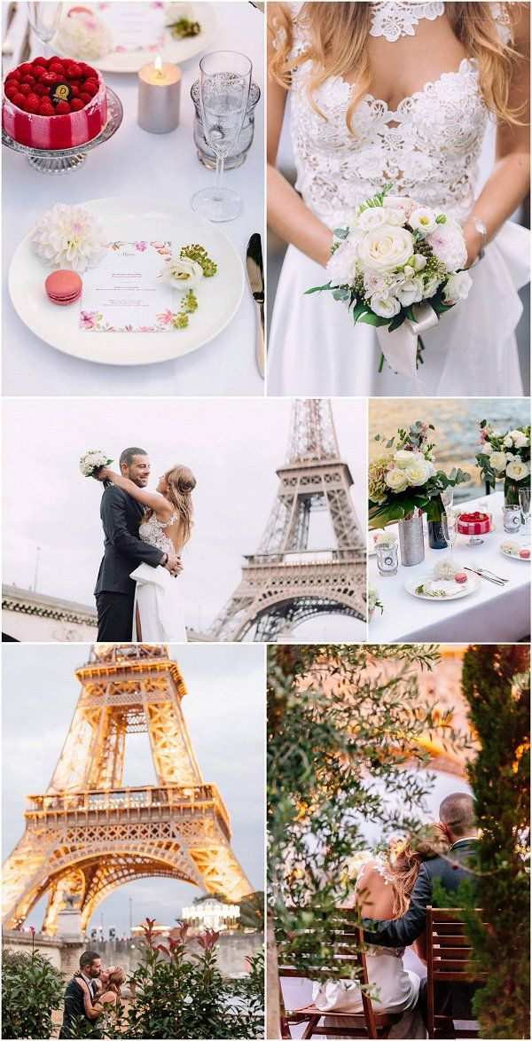 Ideas for a Houseboat wedding in Paris http://goo.gl/s913m1 | Image by IheartParis Photography
