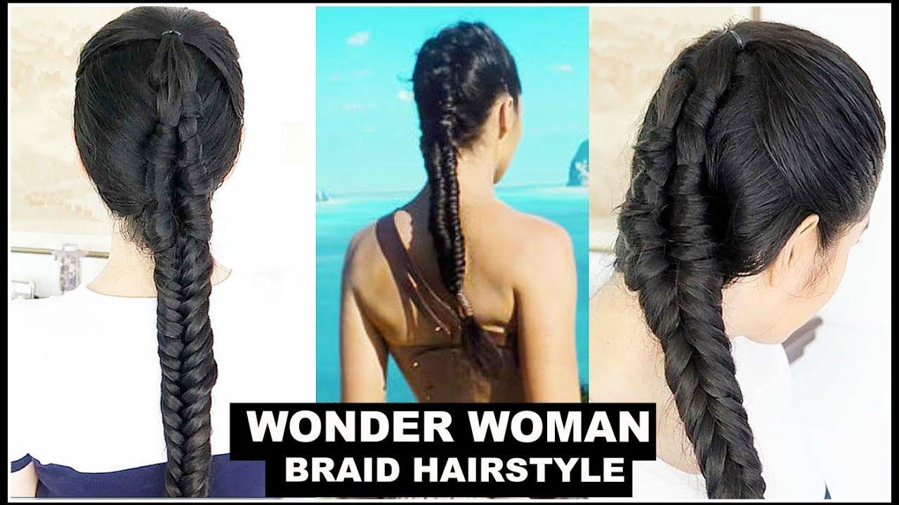 Wonder Woman Braids Hairstyle Attempt Beautyklove Hairstyle