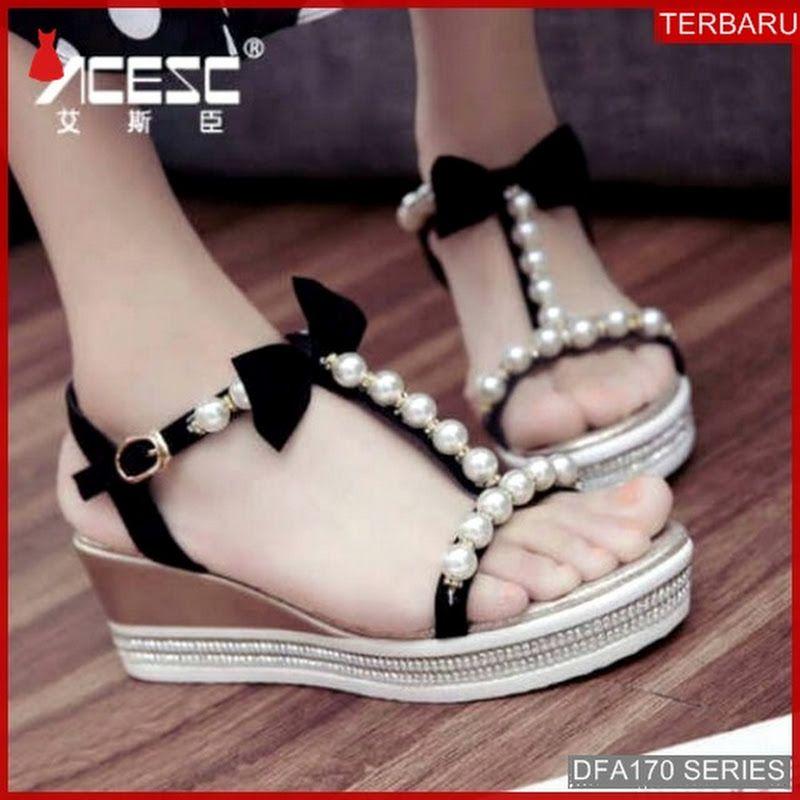 Dfa170g40 G13 Sandal Wedges Wanita 4075 Dewasa Bmgshop Sintesis