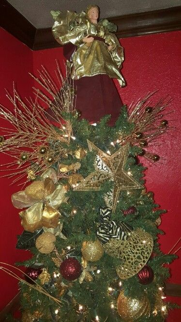 Tree top Christmas decorations and ideas Pinterest