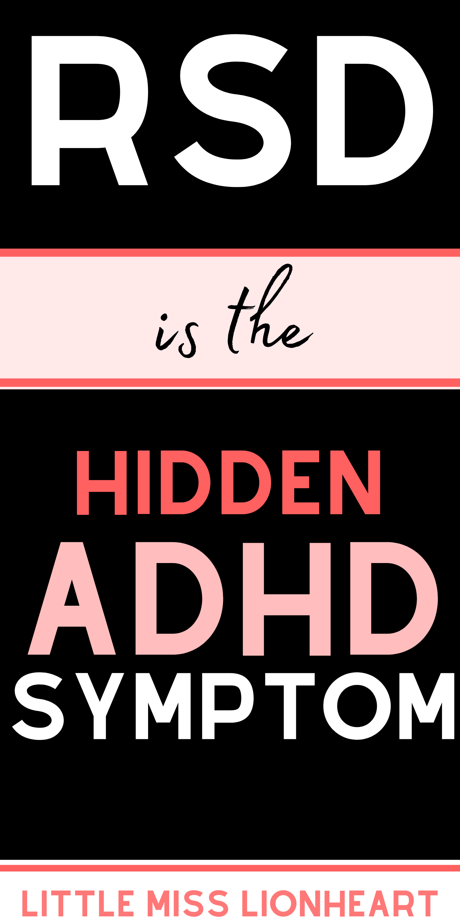 ADHD & Rejection Sensitive Dysphoria