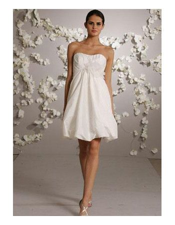 casual short beach wedding dresses