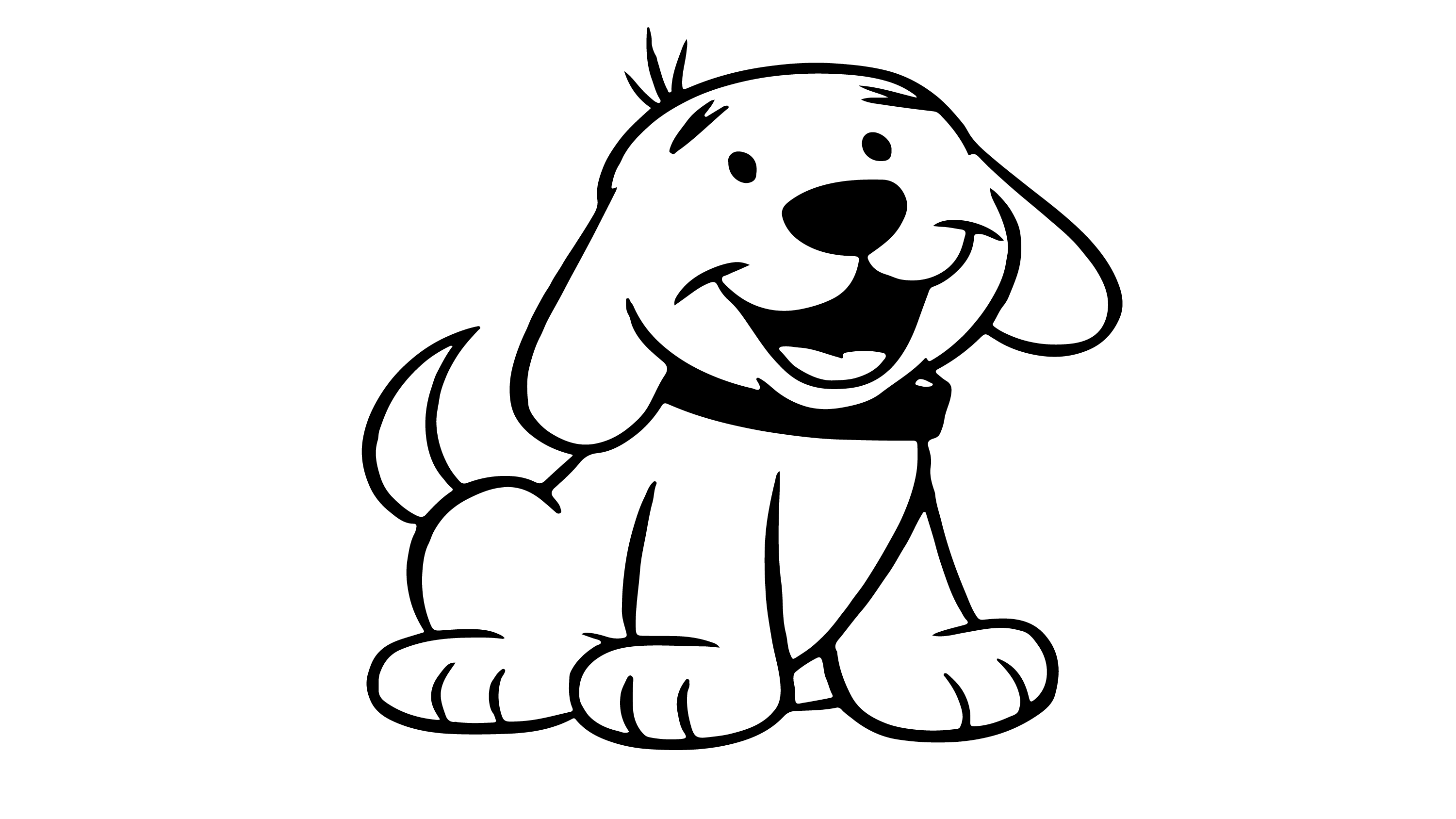 Dog Coloring Page Coloring Videos For Kids Coloring Games Dog Coloring Page Coloring For Kids Coloring Games For Kids